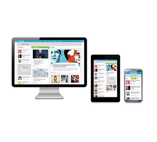 Responsive Web Tasarımları